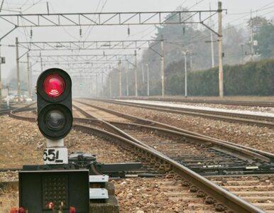 Chaos na kolei. Kolejarz niemal zaatakowany