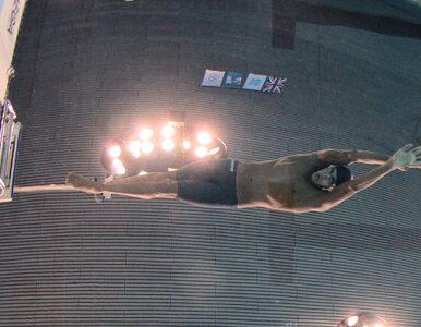 """Pływak wystartuje w dwóch konkurencjach, choć boi się """"ciemnej głębi"""""""