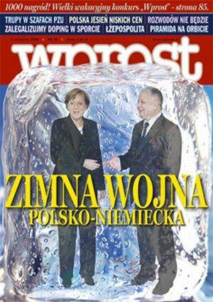 Okładka tygodnika Wprost nr 35/2006 (1237)