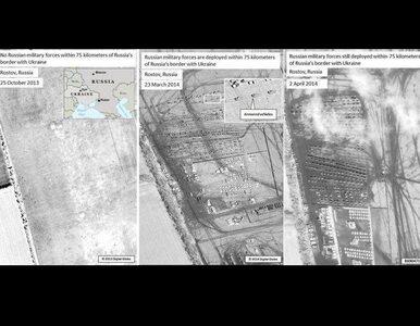 Dowód na koncentrację wojsk rosyjskich niedaleko Ukrainy