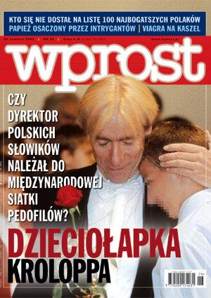 Okładka tygodnika Wprost nr 26/2003 (1074)