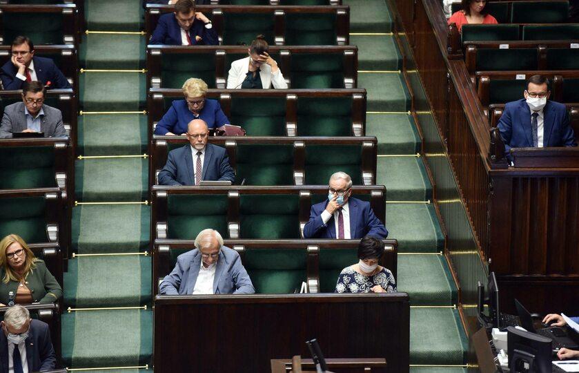 Sejm, ławy PiS