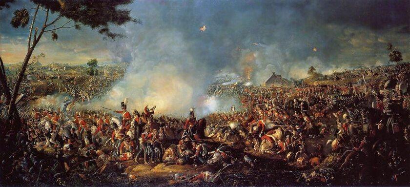 Bitwa pod Waterloo, aut. William Sadler II
