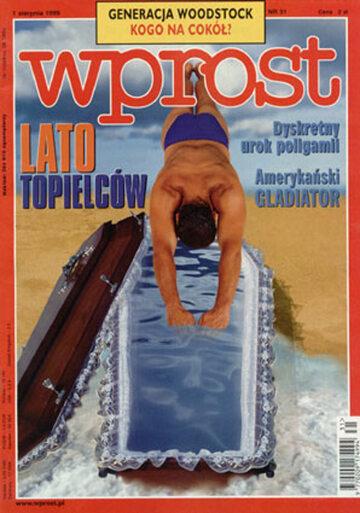 Okładka tygodnika Wprost nr 31/1999 (870)