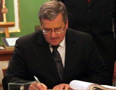 Komorowski podpisał nowelizację ustawy refundacyjnej
