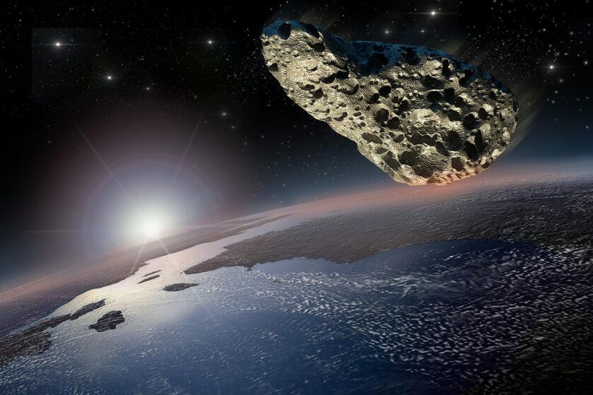 Asteroida, Ziemia, zdj. ilustracyjne
