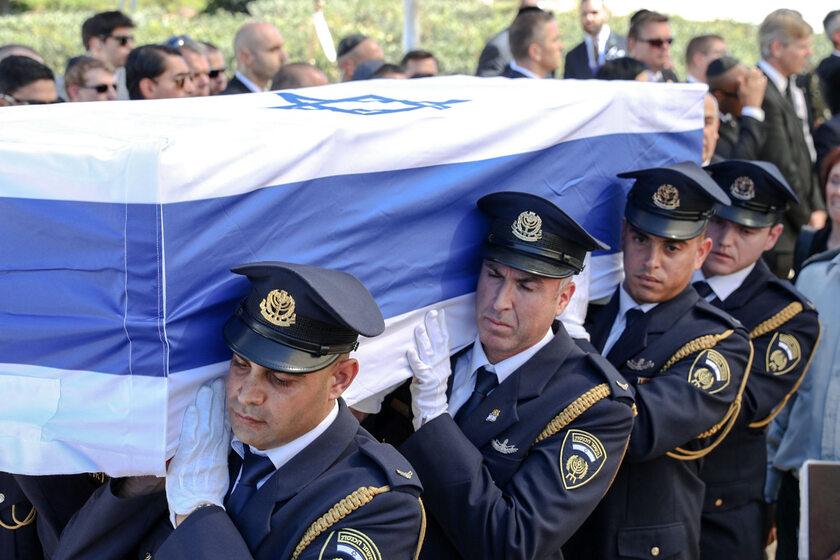 Pogrzeb Szymona Peresa