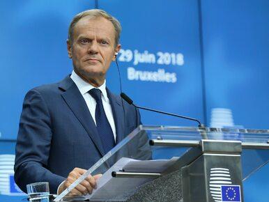 """Tusk o sporze Polski z KE. """"Chciałbym, aby zakończył się jak najszybciej"""""""