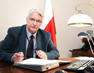 Witold Waszczykowski zostanie europosłem? Miejsce czeka