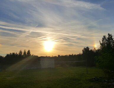 """Niezwykłe zjawisko na niebie w Małopolsce. """"Trzy Słońca"""""""