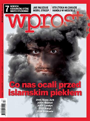 Okładka tygodnika Wprost nr 13/2016 (1730)