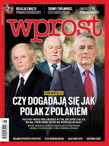 Okładka tygodnika Wprost nr 28/2017 (1794)