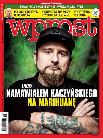 Okładka tygodnika Wprost nr 38/2016 (1754)