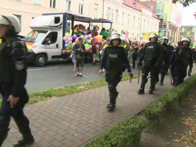 Kilkunastu zatrzymanych po Marszu Równości w Szczecinie. To...