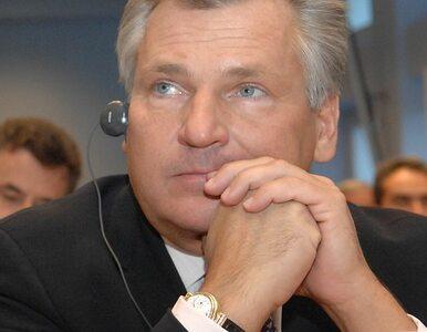 """Kwaśniewski? """"Nic nie widzę"""""""