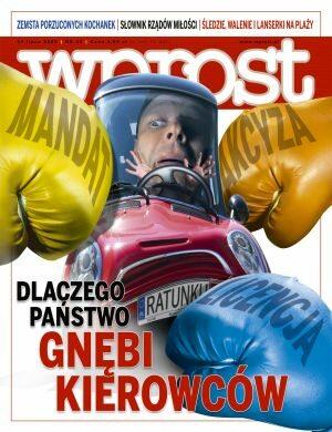 Okładka tygodnika Wprost nr 30/2008 (1335)