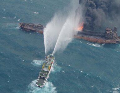 """Zatonął tankowiec """"Sanchi"""", doszło do ogromnego wycieku ropy. Na..."""