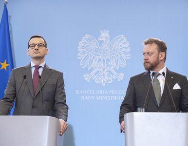 Morawiecki: Szumowskiemu należy się największy order, jaki mogę sobie...