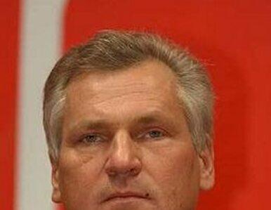 Kwaśniewski kandydatem LiD na premiera