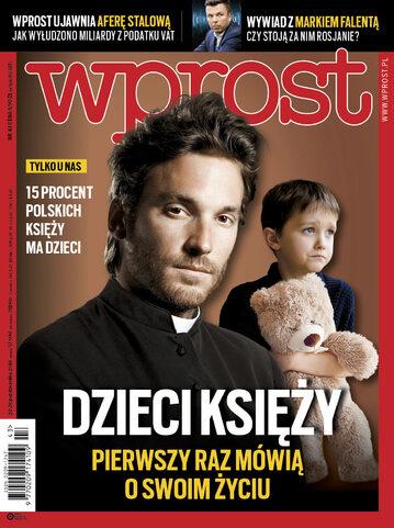 Okładka tygodnika Wprost nr 43/2018 (1858)