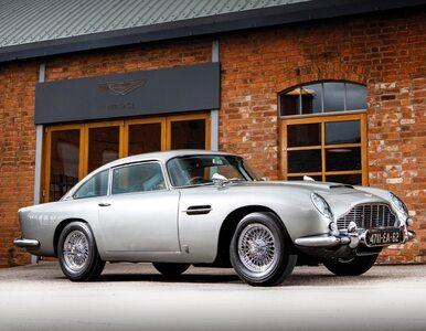 Najsłynniejsze auto świata sprzedane. To Aston Martin DB5