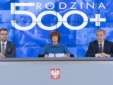 """Minister przyznaje: Na program """"500 plus"""" wydamy więcej niż planowano"""