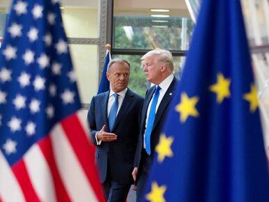 """Tusk spotkał się z Trumpem. """"Nie jestem pewien, czy zgadzamy się w..."""