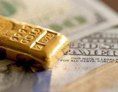 Po rekordach pora na ogromne spadki. Cena złota nurkuje, a inwestorzy...