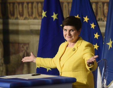 Żółty żakiet premier wywołał burzę w internecie. Wiceminister: Był...