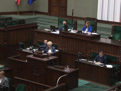 Wicemarszałek Sejmu do posłanki PO: Mam dużo wyrozumiałości dla takich...