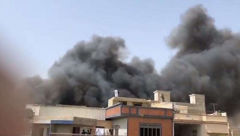 Katastrofa samolotu w Karaczi