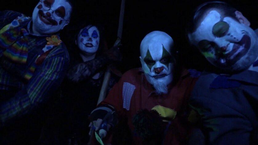"""Kadr z filmu """"Clownado"""""""