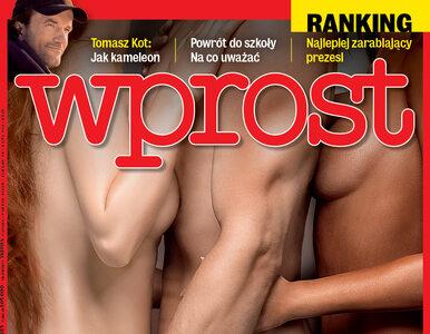 """Erotyczne fantazje Polaków. Co w najnowszym """"Wprost""""?"""