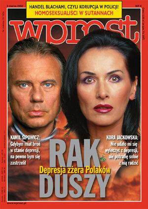 Okładka tygodnika Wprost nr 9/2002 (1005)
