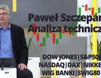 Paweł Szczepanik przedstawia: SP500, NASDAQ, DAX, NIKKEI, WIG BANKI,...