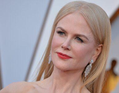 Odważne zachowanie Nicole Kidman. Złapała tarantulę w szklankę