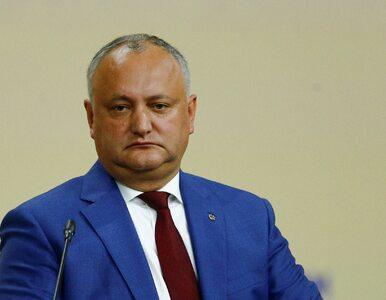 Trybunał Konstytucyjny odwołał ze sprawowanej funkcji prezydenta Mołdawii