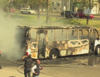 Seria podpaleń w Meksyku. Spłonęło 11 banków i 30 stacji benzynowych