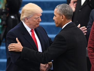 """Obama podsłuchiwał Trumpa podczas kampanii wyborczej? """"Prezydent ma..."""