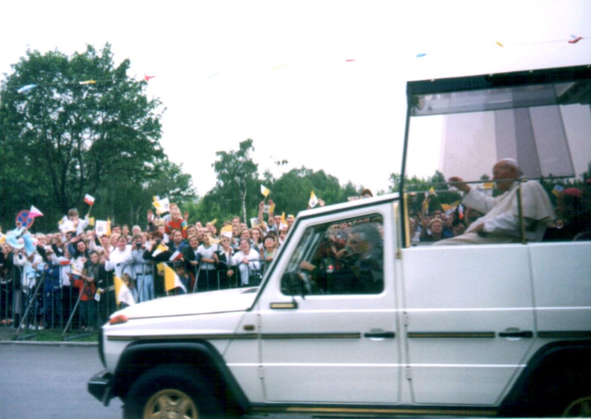 Wizyta Jana Pawła II w Sosnowcu w 1999 roku