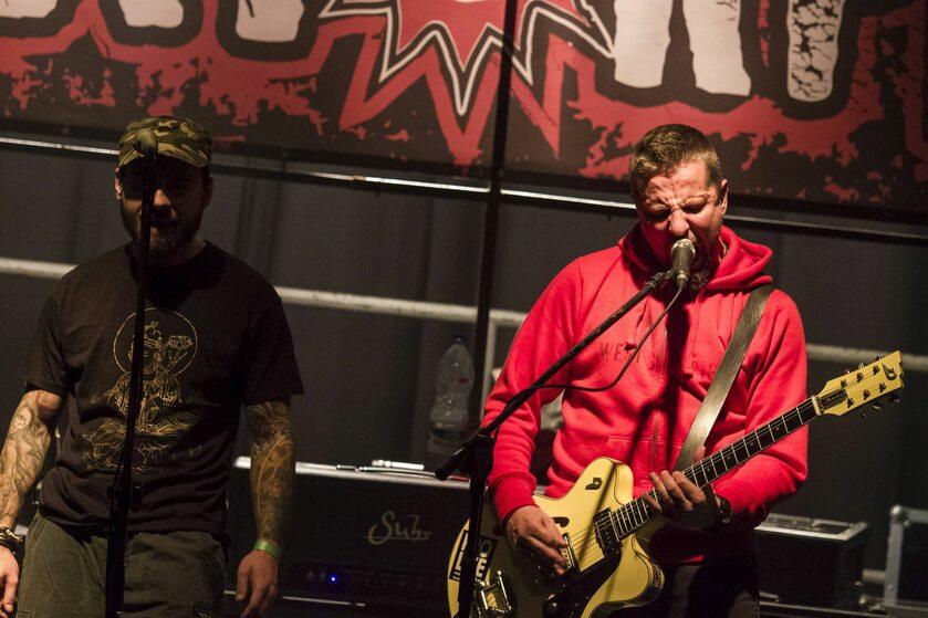 Muzycy zespołu Luxtorpeda