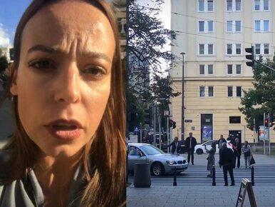 """Anna Mucha apeluje na Instagramie, kierowca BMW odpowiada. """"Dobrze..."""