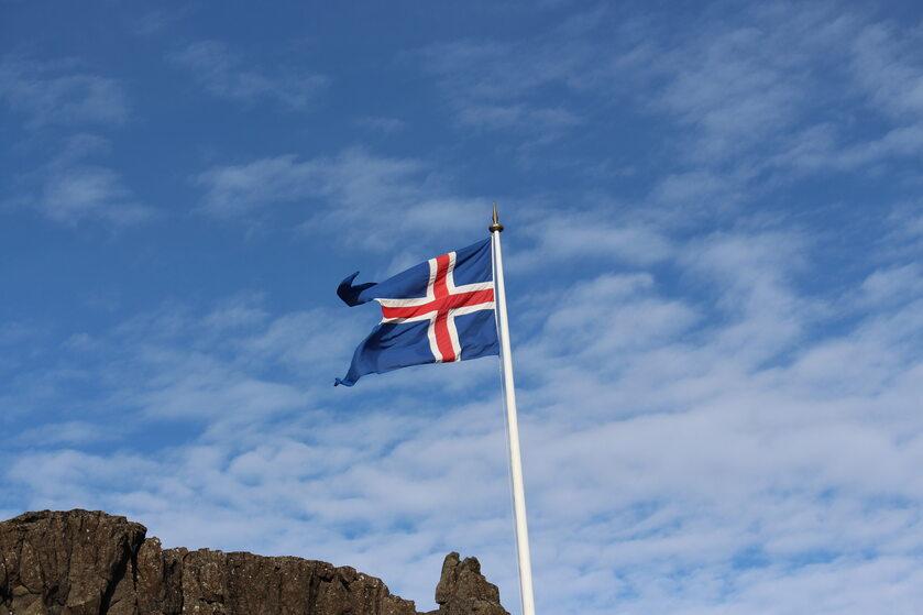 Flaga Islandii
