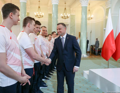 Powołano polską reprezentację gry FIFA. Z zawodnikami spotkał się prezydent