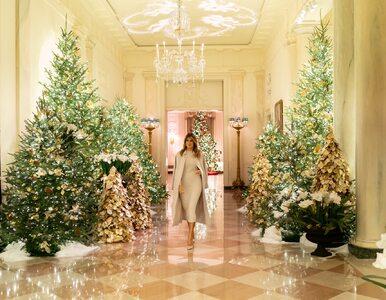 Melania Trump pokazała wnętrza Białego Domu. Tak będzie wyglądał przez...