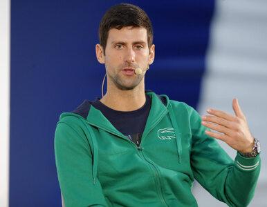 """Koronawirus. Novak Djoković jest przeciwny szczepieniom. """"Nie chcę być..."""