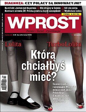 Okładka tygodnika Wprost nr 50/2009 (1403)