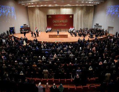 Iracki parlament przegłosował wydalenie amerykańskich i sojuszniczych...
