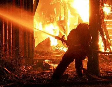 Dolny Śląsk: spłonęła fabryka podpałek