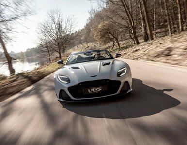 Najszybszy kabriolet Astona Martina. Oto DBS Superleggera Volante